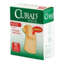 Curad Plastic Adhesive Bandage, Assorted Sizes