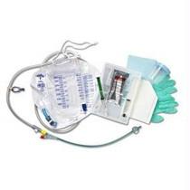 100% Silicone Closed System Foley Catheter Tray 16 Fr 10 Cc