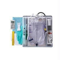 100% Silicone Closed System Foley Catheter Tray 18 Fr 10 Cc