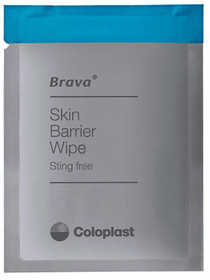 Brava Skin Barrier Wipe, Sting-free, Alcohol-free, Silicone-based