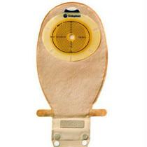 "Sensura 1-piece Wide Outlet Drainable Pouch Cut-to-fit Flat 3/8"" - 3"", Transparent"