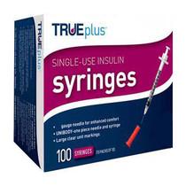 "Trueplus Single-use Insulin Syringe, 31g X 5/16"", .3 Ml (100 Count)"