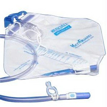 Kenguard Dover Urinary Drainage Bag With Anti-reflux Chamber And Hook And Loop Hanger 2,000 Ml