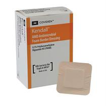 """Amd Antimicrobial Foam Border Dressing, 3-1/2"""" X 5-1/2"""""""