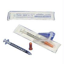 "Monoject Softpack Insulin Syringe 30g X 5/16"", 1 Ml (100 Count)"