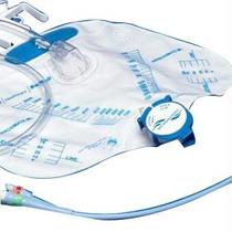 """Curity™ 2-Way Foley Catheter Tray with Ultramer™ Latex Foley Catheter, 16Fr, 17"""" L, 5cc Balloon Capacity"""