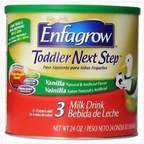 Enfagrow Toddler Next Step Powder 24oz Can, Vanilla