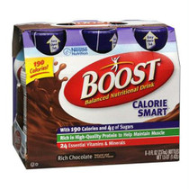 Boost Calorie Smart 8 Oz., Chocolate Sensation