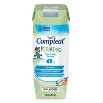Compleat Pediatric Modified Tube Feeding Unflavored Food 8 Oz.