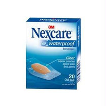 Nexcare Waterproof Bandage Size One, Clear