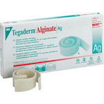 "Tegaderm Alginate Ag Silver Dressing 1"" X 12"" Rope"