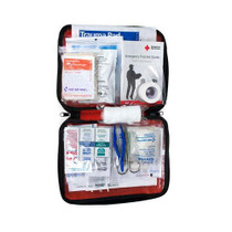 ACME United American Red Cross Be Red Cross Ready First Aid Kit, 73 Pieces