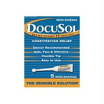 Alliance Labs DocuSol® Constipation Relief Mini Enemas 5 Count