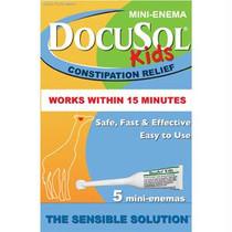 Alliance Labs DocuSol® Kids Constipation Relief Mini Enemas 5 Count