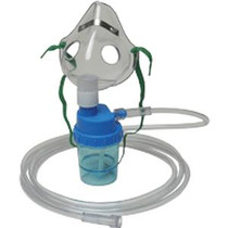 Allied Healthcare Pediatric Mask with Nebulizer and 7 ft Smooth Tubing