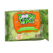 Boogie Wipes Saline Nose Wipes Fresh Scent