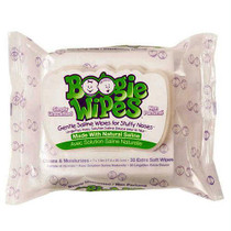 Boogie Wipes Unscented Saline Nose Wipes