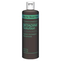 Emerson Betadine® Antiseptic Solution, 10% Povidone-Iodine, 16 oz Bottle