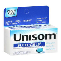 Unisom® SleepGels® Nighttime Sleep-Aid Softgel, Maximum Strength