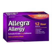 Allegra® Allergy Tablet, Non Drowsy, 12-Hour