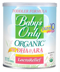 Baby's Only Organic LactoRelief Toddler, 12.7 oz