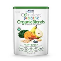 Nestle Compleat® Pediatric Nutritional Formula, Organic Blends, Plant Based, 10.1 oz