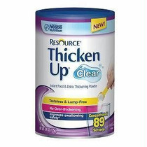 Nestle Resource® Thickenup® Clear Instant Food Thickener, 4-2/5 oz., Unflavored