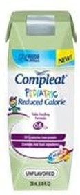 Compleat Pediatric Reduced Calorie, Unflavored