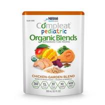 Nestle Compleat® Pediatric Nutritional Formula, Organic Blends, Chicken Garden Based, 10.1 oz