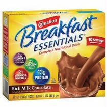 Nestle Carnation® Instant Breakfast Essentials™ Powder Drink Mix, Rich Milk Chocolate