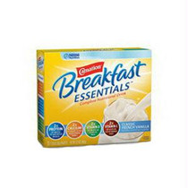 Nestle Healthcare Nutrition Carnation® Instant Breakfast® Essentials™ Classic Fr Vanilla Flavor Powder Drink mix 9Oz, 220kCal, Low-residue, Low-cholesterol