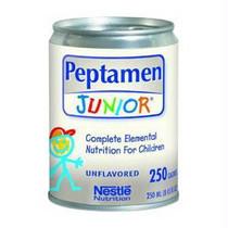 Peptamen Junior with Prebio Chocolate Flavor Liquid 8 Ounce