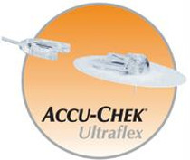 "Accu-Chek® Ultraflex I Infusion Set, 24"" 8mm/60cm"