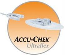"Accu-Chek® Ultraflex I Infusion Set, 31"" 80cm/8mm"