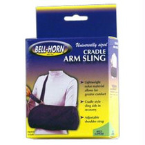 Bell-horn Cradle Arm Sling, Youth Universal, Blue
