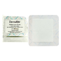 """Gauze Wound Dressing With Adhesive Border, 4"""" X 4"""""""