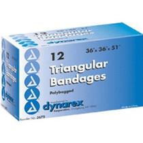 """Dynarex Triangular Bandage 36"""" x 36"""" x 51"""""""