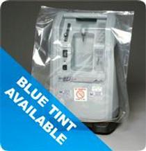 "Elkay Plastics Equipment Cover for Concentrator, Ventilator and Liquid Oxygen, 28"" x 22"" x 56"", Clear"