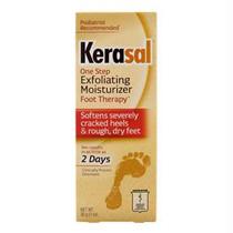 Kerasal® One Step Exfoliating Foot Moisturizer Therapy Ointment 1 oz
