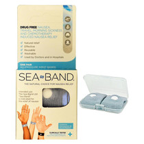 Sea-Band® Acupressure Wrist Band, Adult, Bilingual Package
