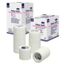 "Hartmann Peha-Haft® Absorbent Cohesive Conforming Gauze Bandage, Latex-Free, 1"" x 4-1/2 yds"