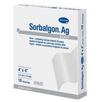 "Hartmann Sorbalgon® Ag Dressing, Latex-Free, 4"" x 4"""