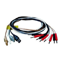 BioMedical Life Systems Electrotherapy Lead Wire, Touch Proof, Multi-Color