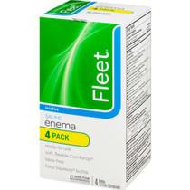 CB Fleet Ready-to-Use Enema Laxative Saline, 4-1/2 oz
