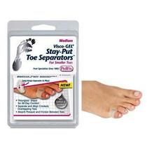 Pedifix® Visco-GEL® Stay-Put Toe Separators™ Toe Separator, Medium