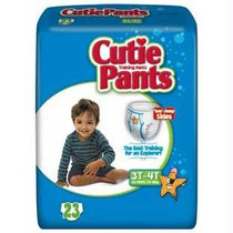 Cuties Refastenable Training Pants For Boys 3t-4t, Up To 32-40 Lbs.