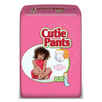Cuties Refastenable Training Pants For Girls 4t-5t, Up To 38+