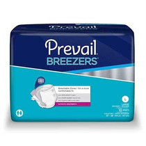 """Prevail® Breezers™ Adult Brief, Large (45"""" to 58"""")"""