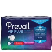 "Prevail Breezers 360 Air Plus Briefs, Size 1, Medium, 26""-48"" - Replaces Items FQPVBNG012 & FQAIR012"