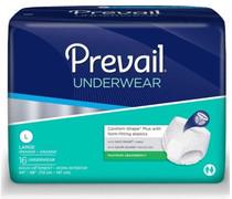 "Prevail Unisex Overnight Underwear, Large, 44"" x 58"", Replaces Items FQPMX513 & FQPWX513."